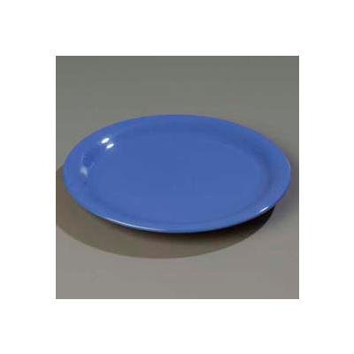"Carlisle 4300414 - Durus® Narrow Rim Dinner Plate 9-1/16"" x 29/32"", Ocean Blue - Pkg Qty 24"