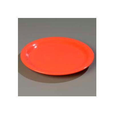 "Carlisle 4300852 - Durus® Narrow Rim Pie Plate 6-9/16"" x 3/4"", Sunset Orange - Pkg Qty 48"