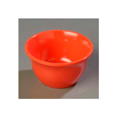 "Carlisle 4305052 - Durus® Bouillon Cup 7.6 Oz., 3-31/32"", Sunset Orange - Pkg Qty 48"