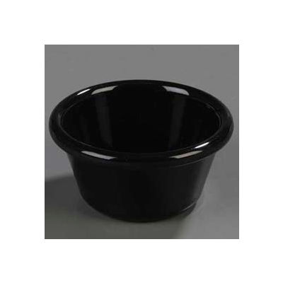 Carlisle 4312303 - Fluted Ramekin 3 Oz., San, Black - Pkg Qty 48