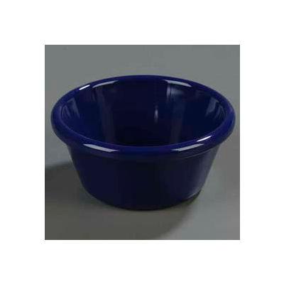 Carlisle 4312660 - Smooth Ramekin 6 Oz., San, Cobalt Blue - Pkg Qty 48