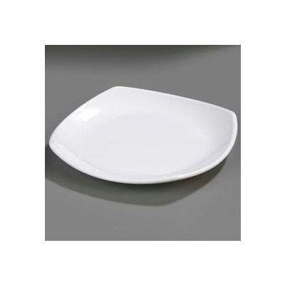 "Carlisle 4330802 - Square Plate 7-3/4"" x 7-3/4"", White - Pkg Qty 48"