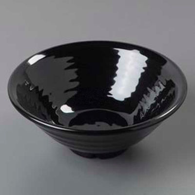 "Carlisle 4342203 - Terra™ Footed Bowl, 40.5 Oz., 8-1/2"", Black"