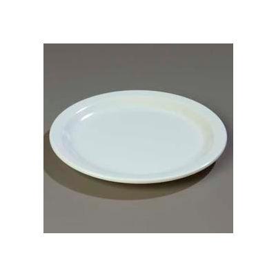 "Carlisle 4350102 - Dallas Ware® Dinner Plate 9"", White - Pkg Qty 48"