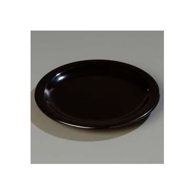 "Carlisle 4350303 - Dallas Ware® Salad Plate 7-1/4"", Black - Pkg Qty 48"