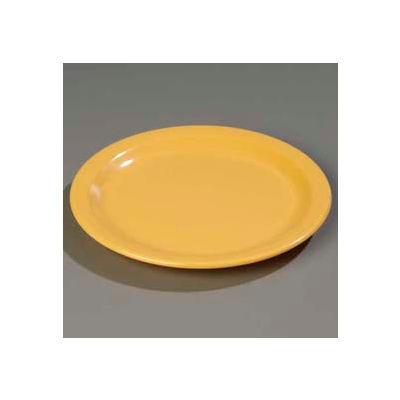 "Carlisle 4350322 - Dallas Ware® Salad Plate 7-1/4"", Honey Yellow - Pkg Qty 48"