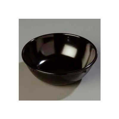 Carlisle 4352103 - Dallas Ware® Nappie Bowl 14 Oz., Black - Pkg Qty 48