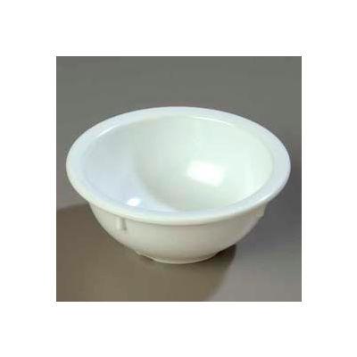 Carlisle 4352202 - Dallas Ware® Rim Nappie Bowl 14 Oz., White - Pkg Qty 24