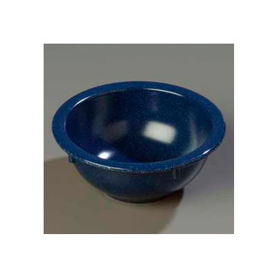 Carlisle 4352235 - Dallas Ware® Rim Nappie Bowl 14 Oz., Cafe Blue - Pkg Qty 24