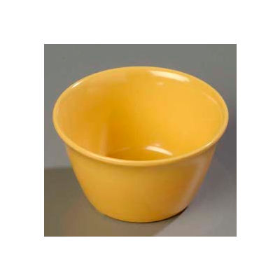 Carlisle 4354022 - Dallas Ware® Bouillon Cup 8 Oz., Honey Yellow - Pkg Qty 24