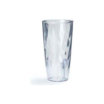 Carlisle 4366507 - Swirl Polycarbonate Tumbler 10 Oz., Clear - Pkg Qty 36