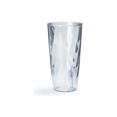 Carlisle 4366607 - Swirl Polycarbonate Tumbler 12 Oz., Clear - Pkg Qty 36