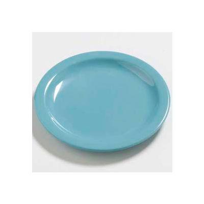 """Carlisle 4385463 - Daytona™ Salad Plate 7-1/4"""", Turquoise - Pkg Qty 48"""