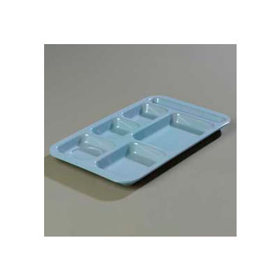 Carlisle 4398259 - Right-Hand Space Saver Compartment Tray, Slate Blue - Pkg Qty 12