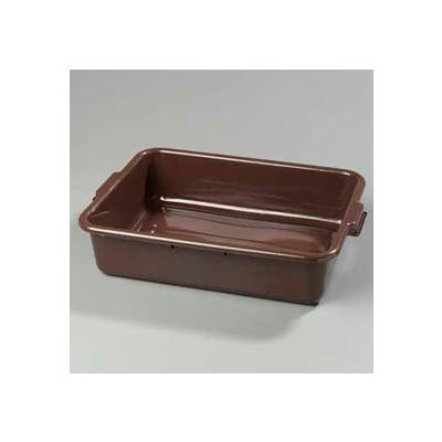 "Carlisle 4401001 - Comfort Curve™ Bus Box 20"" x 15"" x 5"", Brown - Pkg Qty 12"