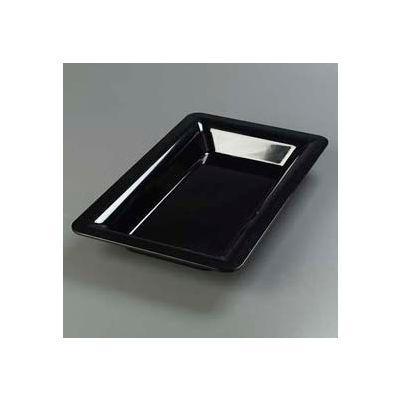 "Carlisle 4442203 - Designer Displayware™ Full Size Food Pan 2-1/2"", Black - Pkg Qty 6"