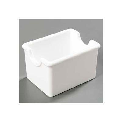 Carlisle 455002 - Sugar Caddy, Holds 20 Packets, White - Pkg Qty 24