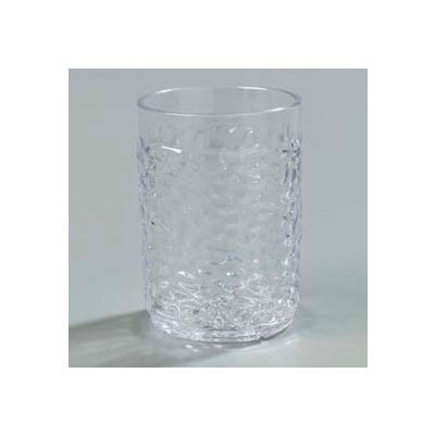 Carlisle 550507 - Pebble Optic™ Tumbler 5 Oz., Clear - Pkg Qty 24
