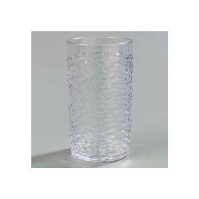 Carlisle 550907 - Pebble Optic™ Tumbler 9.5 Oz., Clear - Pkg Qty 24