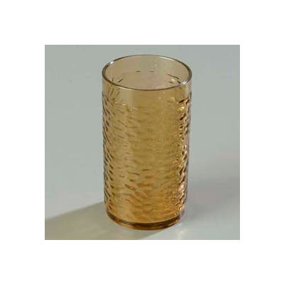 Carlisle 550918 - Pebble Optic™ Tumbler 9.1 Oz., Smoke - Pkg Qty 24