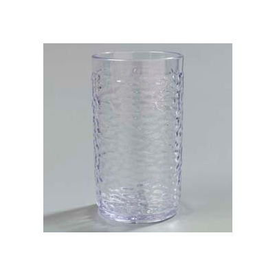 Carlisle 551207 - Pebble Optic™ Tumbler 12 Oz., Clear - Pkg Qty 24