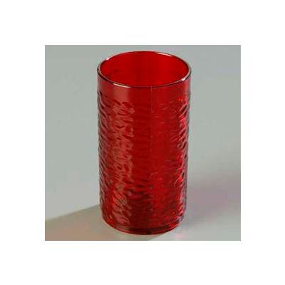 Carlisle 551710 - Pebble Optic™ Tumbler 16 Oz., Ruby - Pkg Qty 24