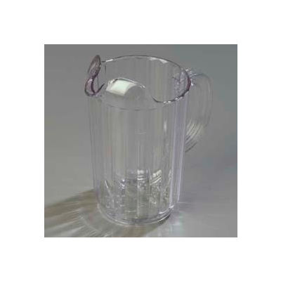 Carlisle 553607 - Carlisle® Pitcher 32 Oz., Clear - Pkg Qty 6