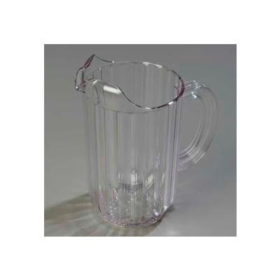 Carlisle 553807 - Carlisle® Pitcher 48 Oz., Clear - Pkg Qty 6