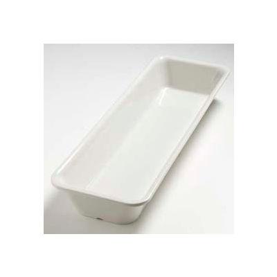 "Carlisle 5552837 - Balsam™ Half Long Size Pan 2-1/2"" Deep, Bavarian Cream - Pkg Qty 6"