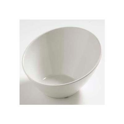 Carlisle 5554437 - Balsam™ Angled Bowl 26 Oz., Bavarian Cream - Pkg Qty 6