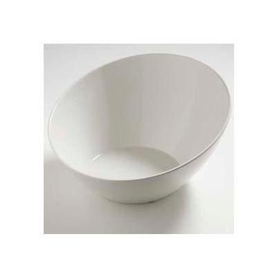 Carlisle 5554637 - Balsam™ Angled Bowl 3 Qt., Bavarian Cream - Pkg Qty 6