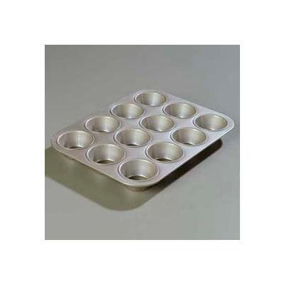 Carlisle 601830 - Steeluminum® Heavy-Duty Cupcake Pan 3.5 Oz. - Pkg Qty 12