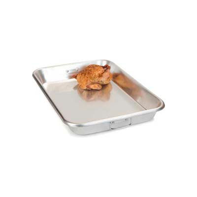 "Carlisle 601923 - 19 Qt. Bake Pan With Drop Handles 18"" x 26"" x 3-1/2"", Aluminum - Pkg Qty 4"