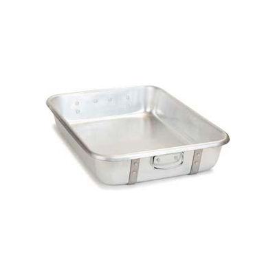"Carlisle 60344 - Roast Pan, 26 Quart, 24"" x 18"" x 4-1/2"", (Use As Cover) For #60345, Aluminum - Pkg Qty 2"