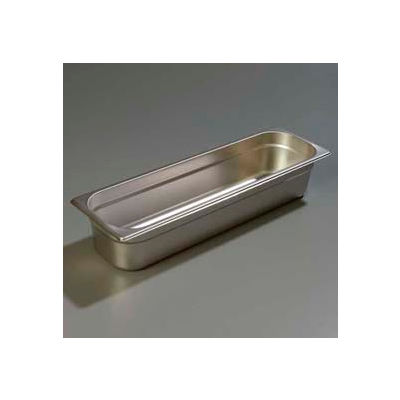"Carlisle 60700HL4 - Durapan™ Light Gauge One-Half Long Size Pan 20-13/16"" x 6-3/8"" - Pkg Qty 6"