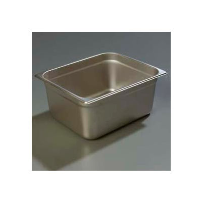 "Carlisle 607126 - Durapan™ Light Gauge One-Half Size Pan 10-3/8"" x 12-3/4"" x 6"" Deep - Pkg Qty 6"