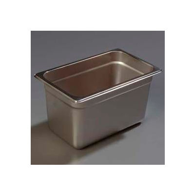 "Carlisle 608146 - Durapan™ Heavy Gauge One-Quarter Size Pan 6-3/8"" x 10-3/8"" - Pkg Qty 6"