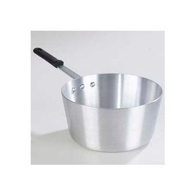 Carlisle 61710 - Tapered Sauce Pan W/ Removable Dura-Kool™ Sleeves 6.5 Qt., Aluminum - Pkg Qty 6