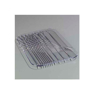 """Carlisle 645007 - Festival Trays™ Rectangular Tray 15"""" x 10-3/4"""", Clear - Pkg Qty 12"""