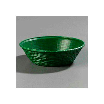 Carlisle 652409 - Weavewear™ Round Basket 1.6 Qt., Green - Pkg Qty 12