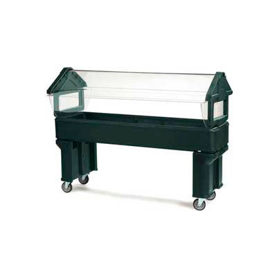Carlisle 660608 - Six Star™ 6 Ft. Portable W/Legs Only, Forest Green