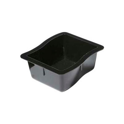 "Carlisle 698603 - Modular Displayware Third Size Pan 2-1/2"" Deep, Black - Pkg Qty 6"