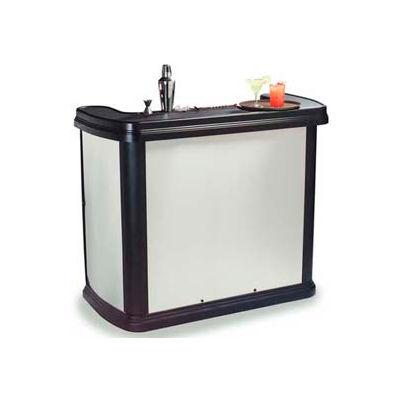 "Carlisle 755044 - Maximizer Portable Bar 56"", 26-1/2"", 48-1/2"", Stainless Steel"