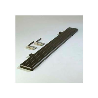 Carlisle 772103 - Maximizer™ Food Bar Tray Slide 6 Ft., Black