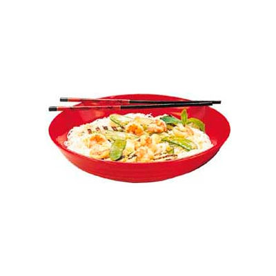 "Carlisle 791303 - Designer Displayware™ 10 Lb. Pasta Bowl 13"", Black - Pkg Qty 4"