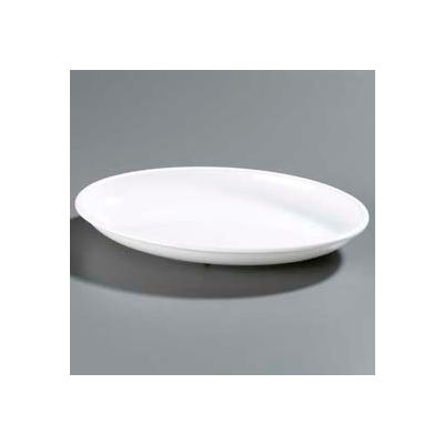 "Carlisle 791402 - Designer Displayware™ 2 Qt. Oval Platter 14"" x 10"", White - Pkg Qty 4"