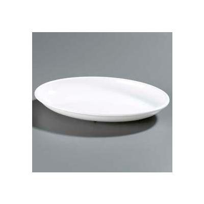 "Carlisle 791602 - Designer Displayware™ 3 Qt. Oval Platter 16"" x 12"", White - Pkg Qty 4"