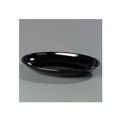 "Carlisle 791803 - Designer Displayware™ 4 Qt. Oval Platter 19-3/16"" x 13-3/4"", Black - Pkg Qty 4"