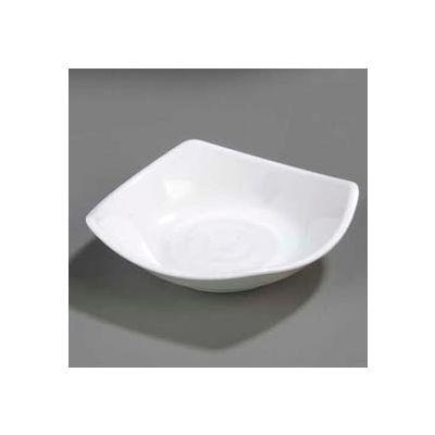 """Carlisle 794202 - Small Square Dish 5-1/4"""", White - Pkg Qty 48"""