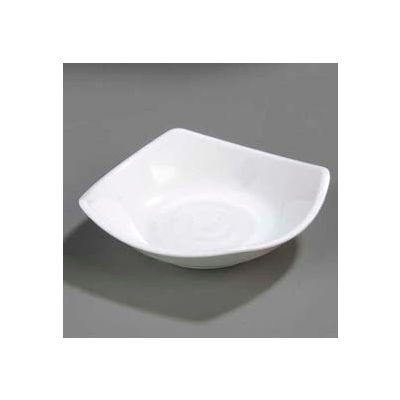 "Carlisle 794202 - Small Square Dish 5-1/4"", White - Pkg Qty 48"